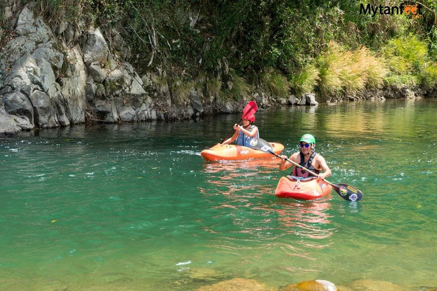 things to do in turrialba - river kayaking