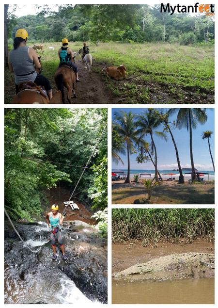 1 week Costa Rica budget - Jaco activities