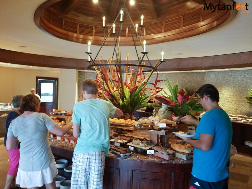 JW Marriott Guanacaste Resort and Spa - breakfast buffet