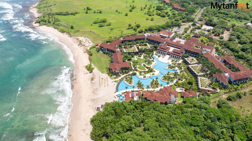 JW Marriott Guanacaste Resort and Spa - property and beach