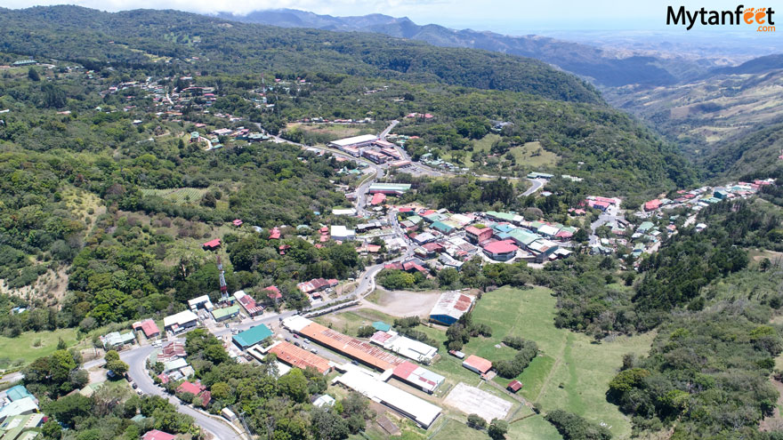 Monteverde or Arenal - Santa Elena town