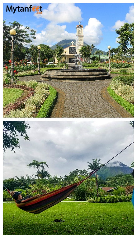 monteverde or arenal - arenal weather