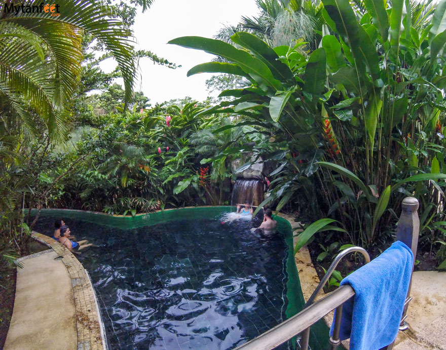 Arenal hot springs - Paradise hot springs Costa Rica