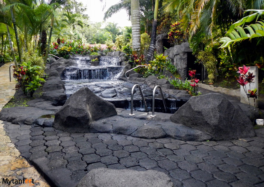 Arenal hot springs - Titoku hot springs Costa Rica