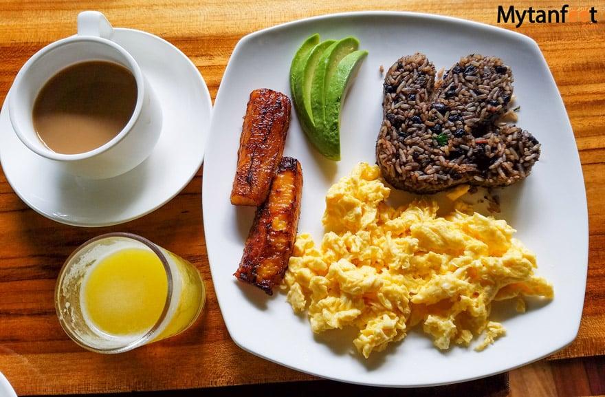 Costa Rican gallo pinto recipe breakfast