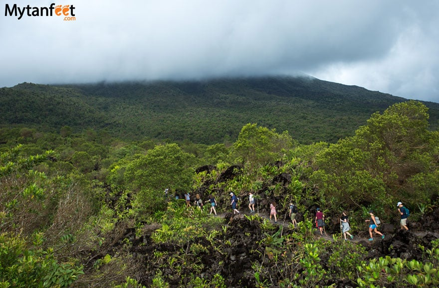 Hiking arenal 1968 - Sendero Lava trail