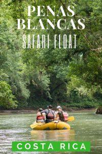 Rio Penas Blancas Safari Float La Fortuna