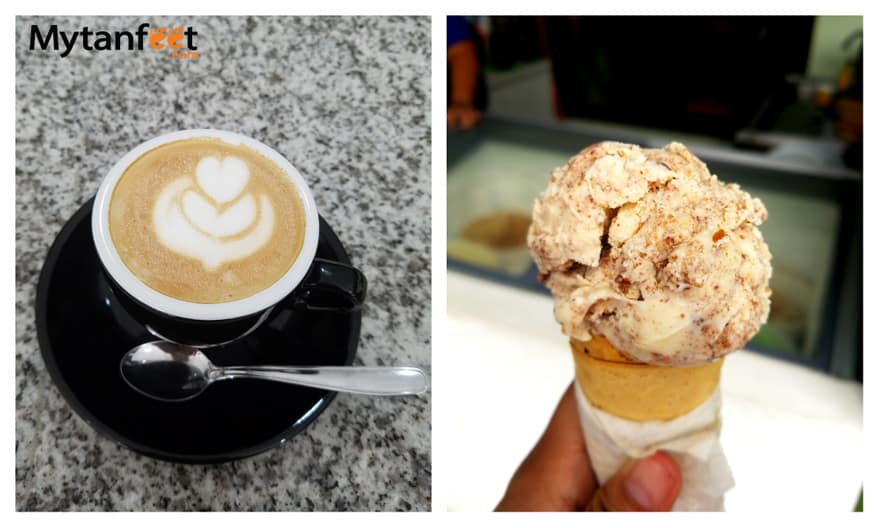 Things to do in Monteverde - ice cream and coffee