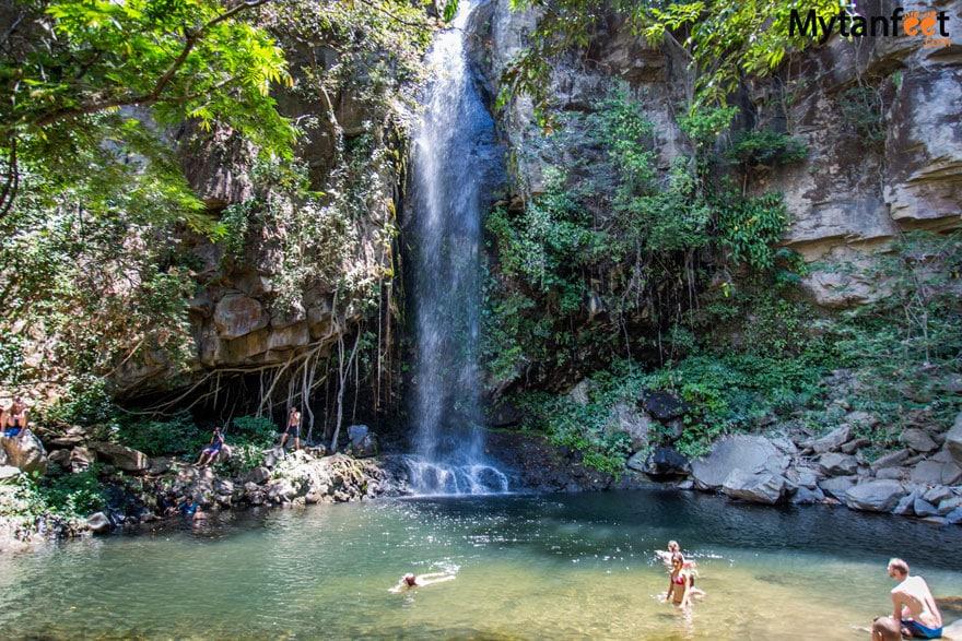 10 days in Costa Rica - Rincon de la Vieja National Park Catarata La Cangreja