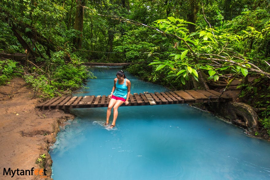 Rio Celeste waterfall - 10 days in Costa Rica