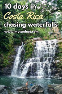 10 days in Costa Rica chasing waterfalls