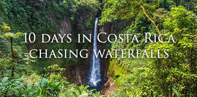 10 days in costa rica itinerary featured