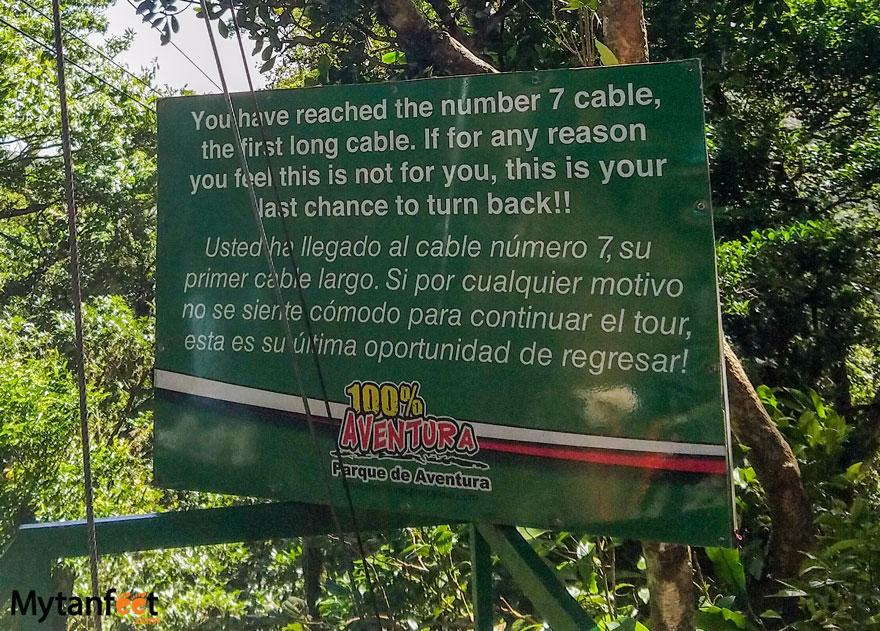 100 Aventura Monteverde Zipline