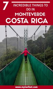 7 Things to do in Monteverde