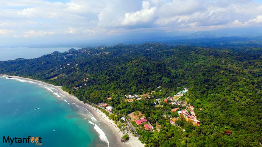 Best easy to get to Beach towns in Costa Rica - Manuel Antonio