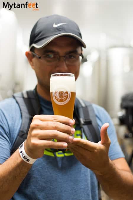 Costa Rica craft beer - Cerveceria del Centro