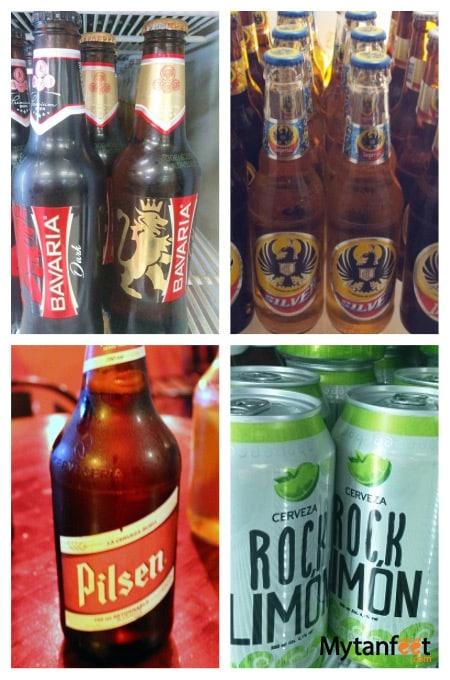 Costa Rican craft beer - local beer