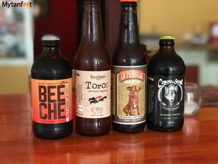 Costa Rican craft beer - micro breweries