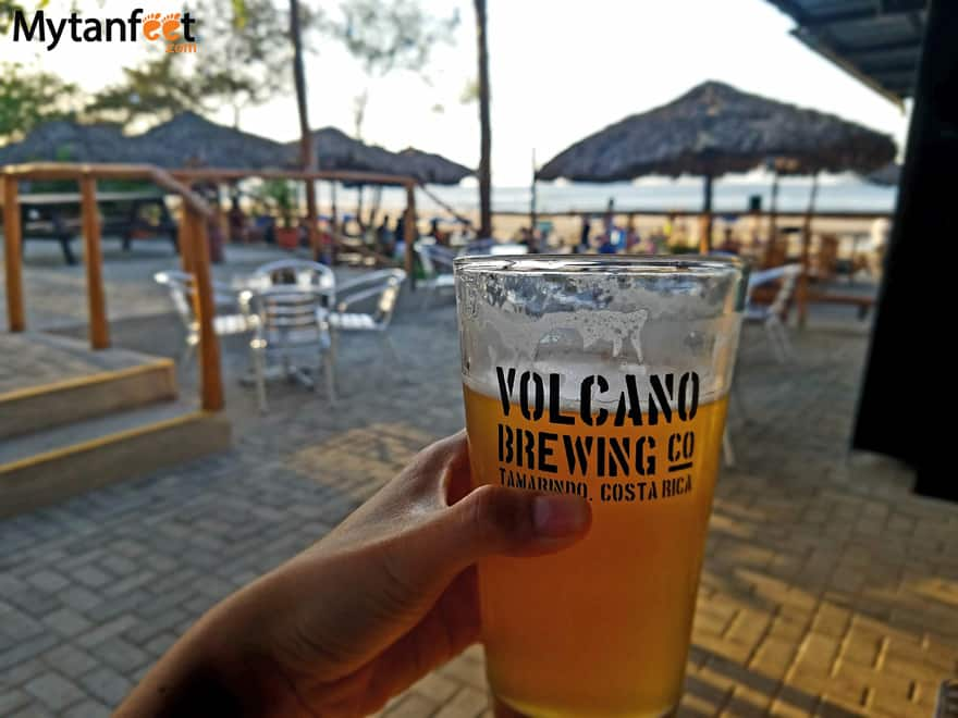 Costa Rican craft beer - witchs rock volcano brewing company