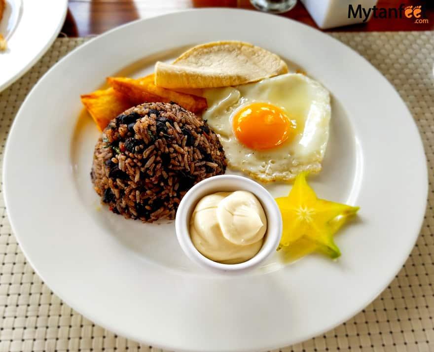 Eating Vegetarian in Costa Rica - Gallo Pinto