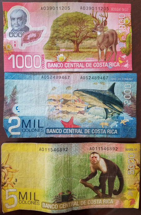 Costa Rica Money How To Handle And