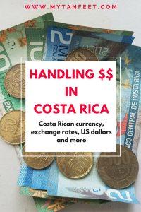 How to handle money in Costa Rica