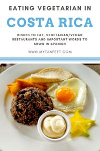 Traveling as a vegetarian in Costa Rica