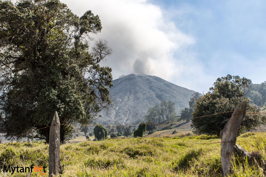 Turrialba Costa Rica city guide - Turrialba Volcano National Park