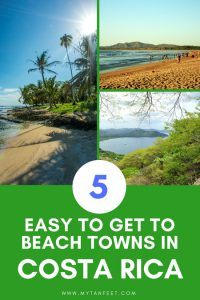 beach towns in Costa Rica
