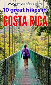 great hikes in Costa Rica - hiking in Costa Rica