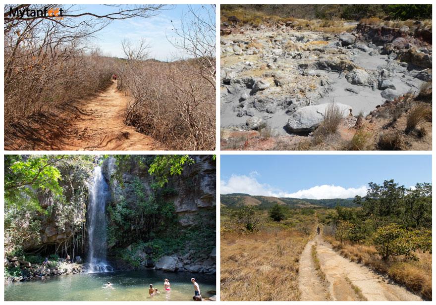 hikes in Costa Rica - Rincon de la Vieja National Park