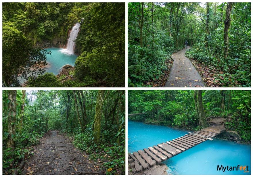 hikes in Costa Rica - Rio Celeste Tenorio Volcano National Park