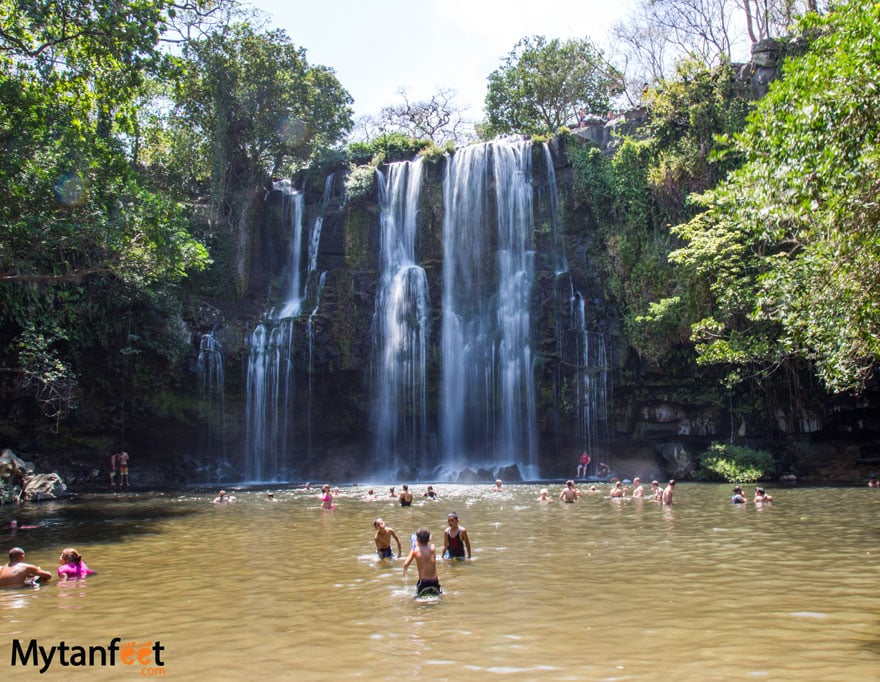 things to do in Costa Rica with kids - Catarata Llanos de Cortes