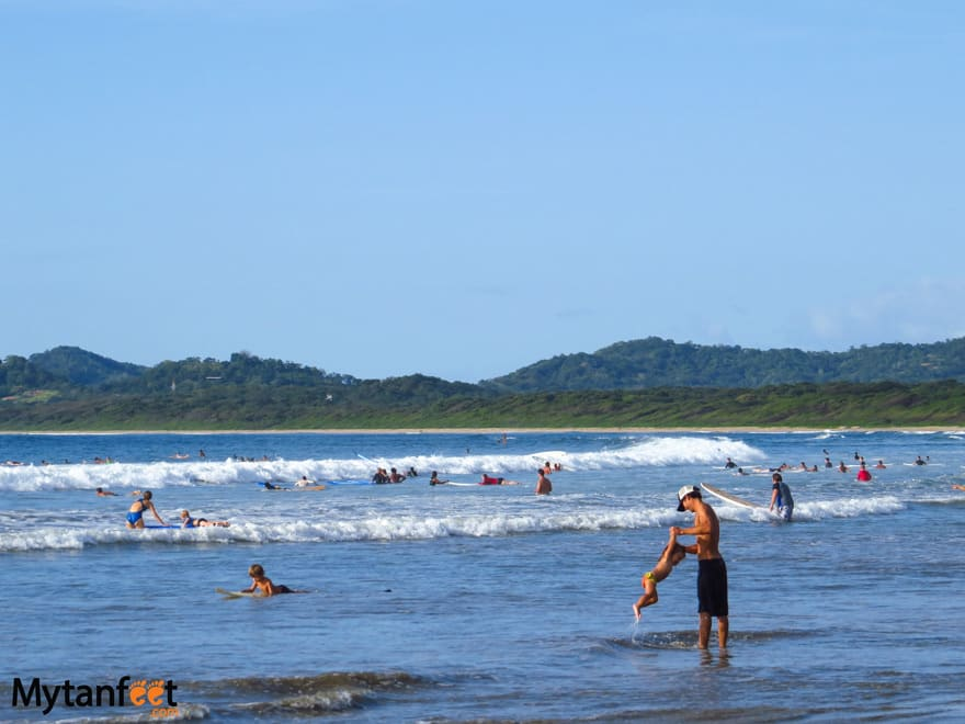 things to do in Costa Rica with kids - beach