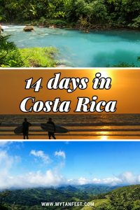 14 days in Costa Rica itinerary