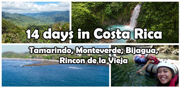 14 days in Costa Rica itinerary guide featured