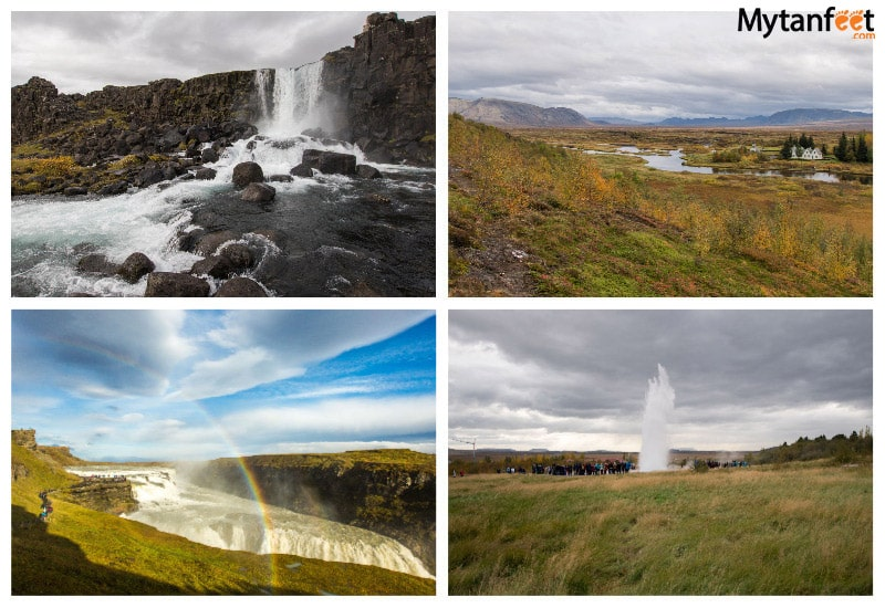 How much it costs to travel in Iceland for one week - Golden Circle