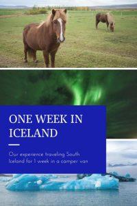 One week in Iceland