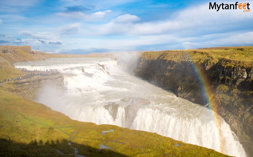 One week in Iceland by camper van - Gullfoss waterfall