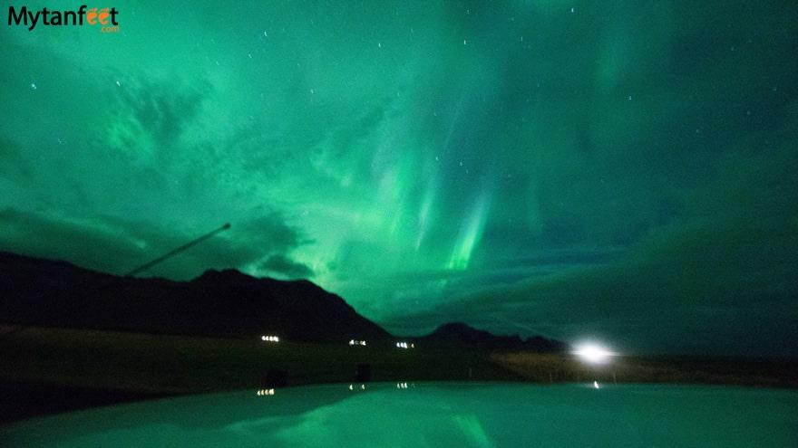 One week in Iceland by camper van - Northern Lights