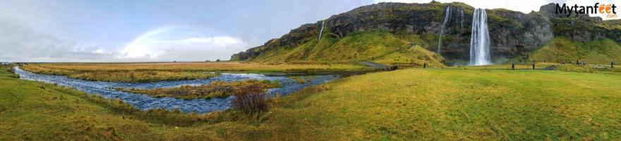 One week in Iceland by camper van - Seljalandafoss waterfall