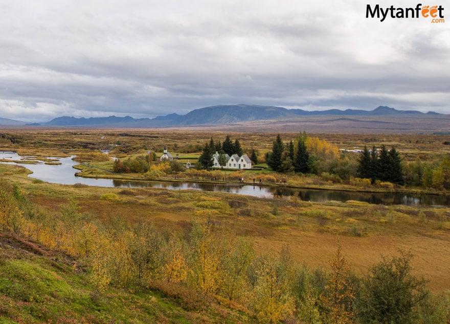 One week in Iceland by camper van - thingvellir national park