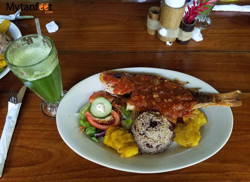 Punta Uva Restaurants