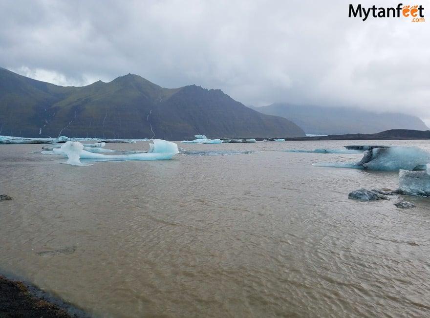 one week in Iceland by camper van - Skaftafellsjökull glacier