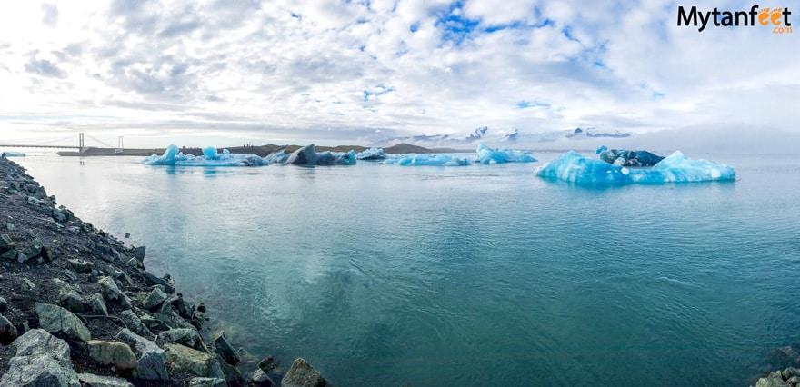 one week in iceland by camper van - Jökulsárlón glacier