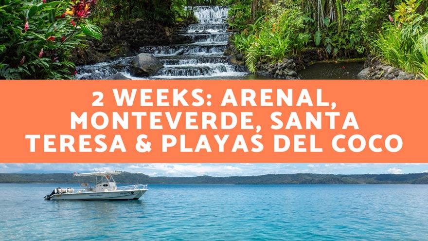 2 week Costa Rica itinerary