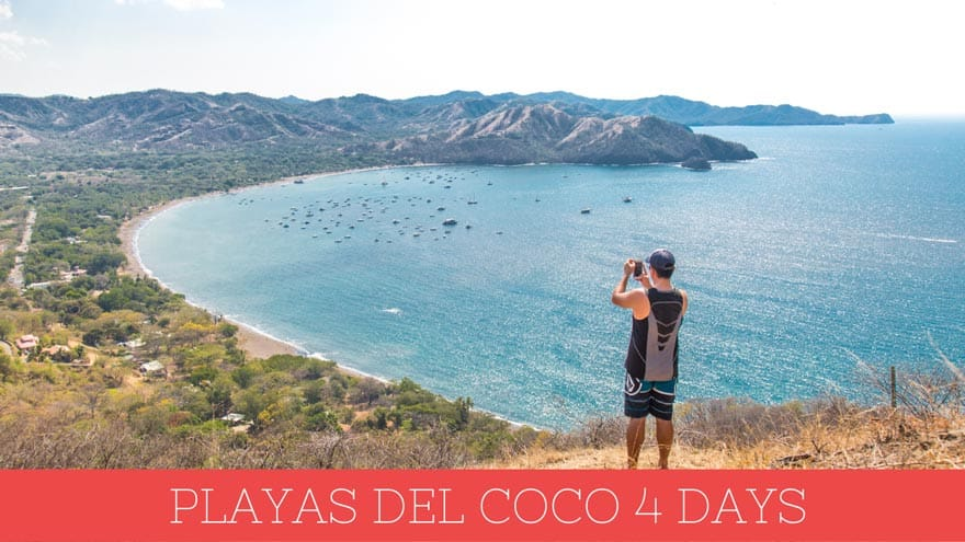 Playas del Coco, Costa Rica itinerary