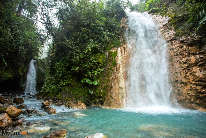 Best waterfalls in Costa Rica - Blue Falls