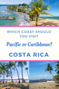 Caribbean and Pacific coast of Costa Rica