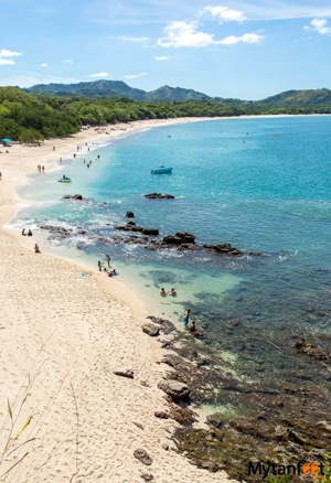 Differences between Caribbean and Pacific coast of Costa Rica - Playa Conchal